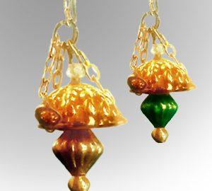 Hanging Brass Lamp