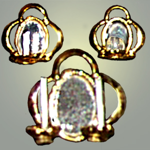 Reflector Sconce with loops