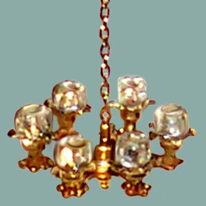 Victorian Six Light Globe