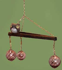 3 Hanging Magic Globes