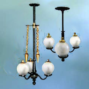 Gas Rod with Globes
