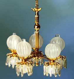 Victorian Up-Light Fixture