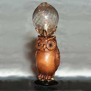 Tall Owl w/ Globe G-L-08