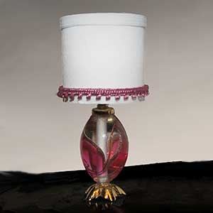 Contemporary Glass Lamp