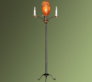 Candlestand with Owl