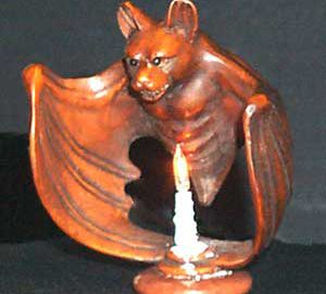 Bat with Candle
