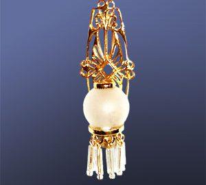 Glass Globe Sconce