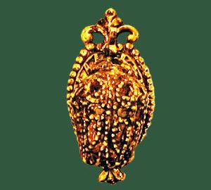 Filigree Pear Lantern
