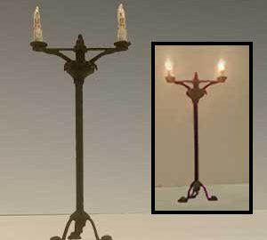 2 Arm Floor Candlestand